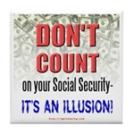 Social Security Ceramic Tile