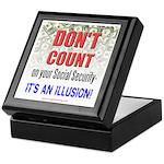 Social Security Tile Cash Stash