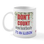 Social Security Illusion Mug