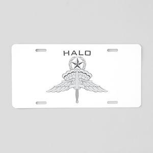 Freefall Jump Master Aluminum License Plate