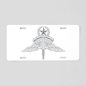 Freefall (HALO) Jump Master Aluminum License Plate
