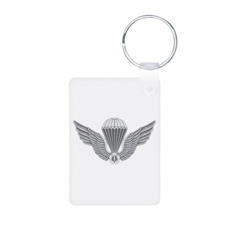 S Korean Jump Wings Aluminum Photo Keychain