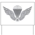 S Korean Jump Wings Yard Sign