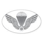 S Korean Jump Wings Sticker (Oval 50 pk)