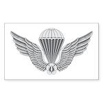 S Korean Jump Wings Sticker (Rectangle 50 pk)