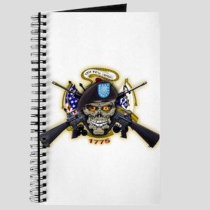 US Army Skull 1775 Journal