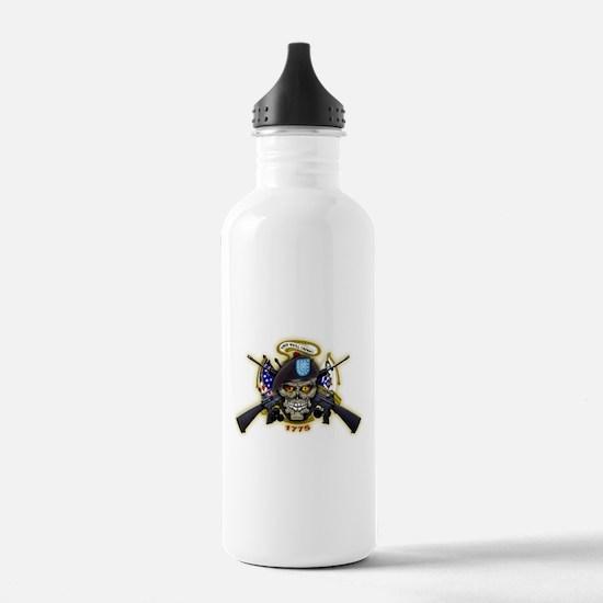 US Army Skull 1775 Water Bottle