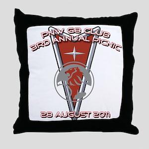 PNW G8 PICNIC 2011 Throw Pillow
