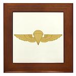 Naval Parachutist Framed Tile
