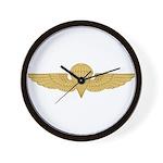 Naval Parachutist Wall Clock