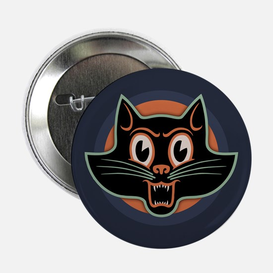 """Scary Cat II 2.25"""" Button"""