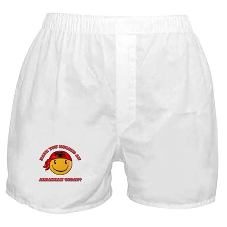 Have you hugged an Albanian today? Boxer Shorts
