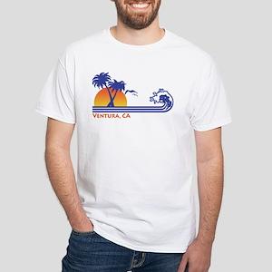 Ventura California White T-Shirt