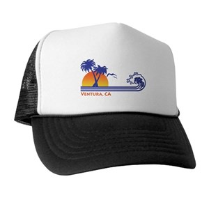 California Trucker Hats - CafePress 3559baec63a6