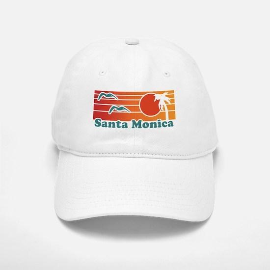 Santa Monica Baseball Baseball Cap