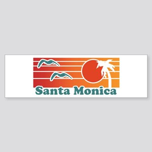 Santa Monica Sticker (Bumper)