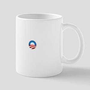 Romney Blue Text Mug