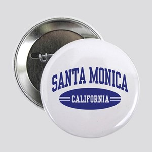"Santa Monica California 2.25"" Button"