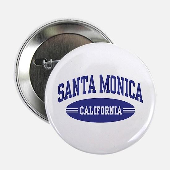 """Santa Monica California 2.25"""" Button"""