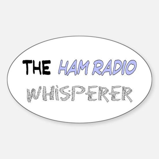 The Whisperer Sticker (Oval)