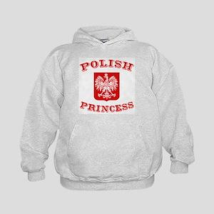 Polish Princess Kids Hoodie