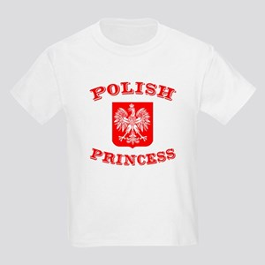 Polish Princess Kids T-Shirt
