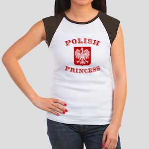 Polish Princess Women's Cap Sleeve T-Shirt