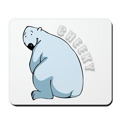 Funny Polar Bear Mousepad