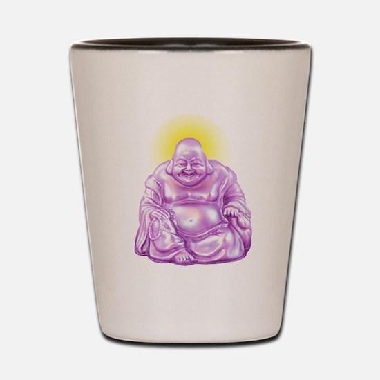 HAPPY BUDDHA Shot Glass