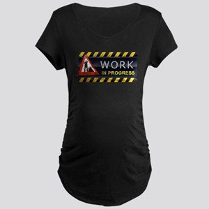 Work in Progress Maternity Dark T-Shirt