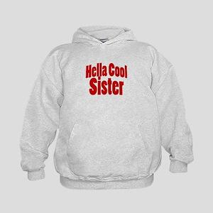 Hella Cool Sisters Kids Hoodie