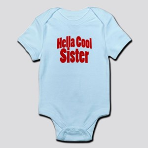 Hella Cool Sisters Infant Bodysuit