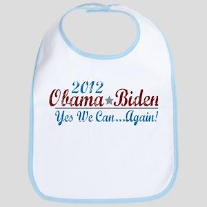 Obama 2012 Yes We Can Bib