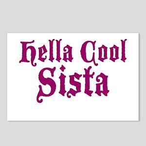 Hella Cool Sista Postcards (Package of 8)