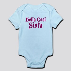 Hella Cool Sista Infant Bodysuit