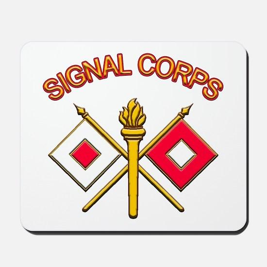 Signal Corps Mousepad