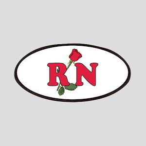 RN Nurses Rose Patches