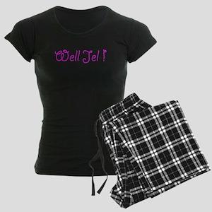 Well Jel Women's Dark Pajamas
