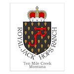 ROYAL JACKS HOPS RANCH Small Poster