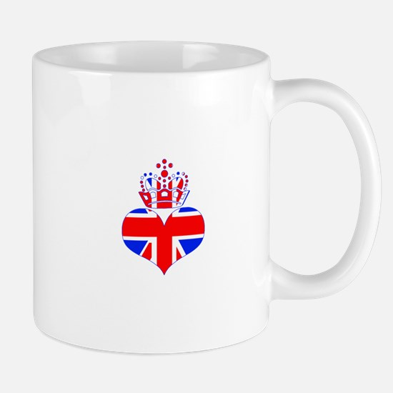 heart & crown (union jack) Mug