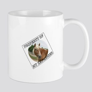 Property of my Haflinger Mug