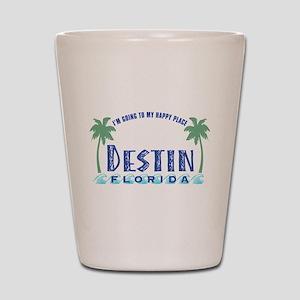 Destin Happy Place - Shot Glass