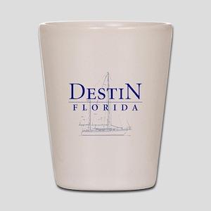Destin Sailboat - Shot Glass