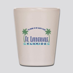 Ft. Lauderdale Happy Place Shot Glass
