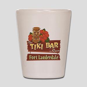 Ft. Lauderdale Tiki Bar - Shot Glass