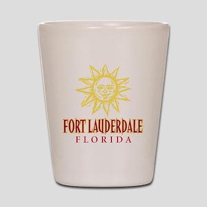 Ft. Lauderdale Sun - Shot Glass