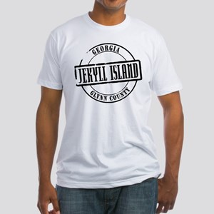 Jekyll Island Title Fitted T-Shirt