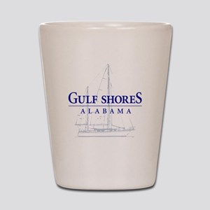 Gulf Shores Sailboat - Shot Glass