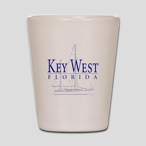 Key West Sailboat - Shot Glass