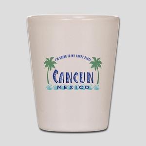 Cancun Happy Place - Shot Glass